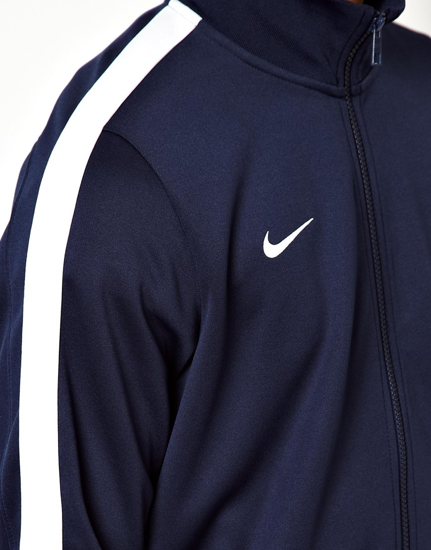 f8463d8be345 Lyst - Nike N98 Track Jacket in Blue for Men