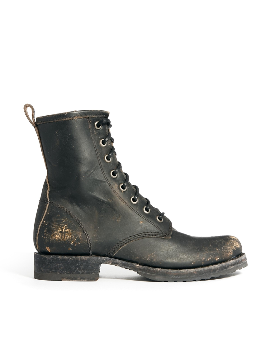 Perfect Onshoesblog  FRYE Courtney LaceUp Vintage Boot For Women