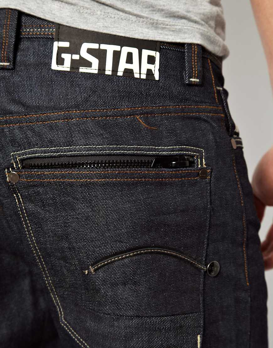 Lyst G Star Raw Jeans Attacc Loose In Blue For Men