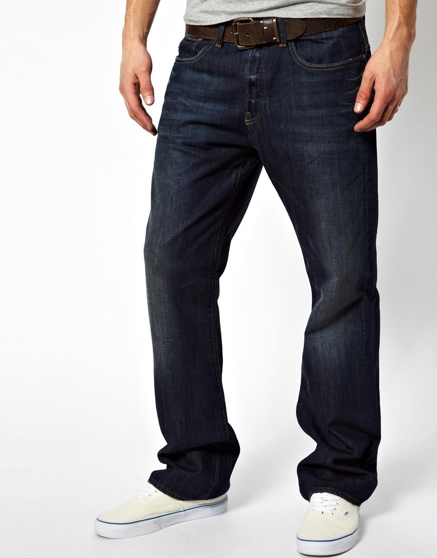 g star raw jeans loose graz in blue for men lyst. Black Bedroom Furniture Sets. Home Design Ideas