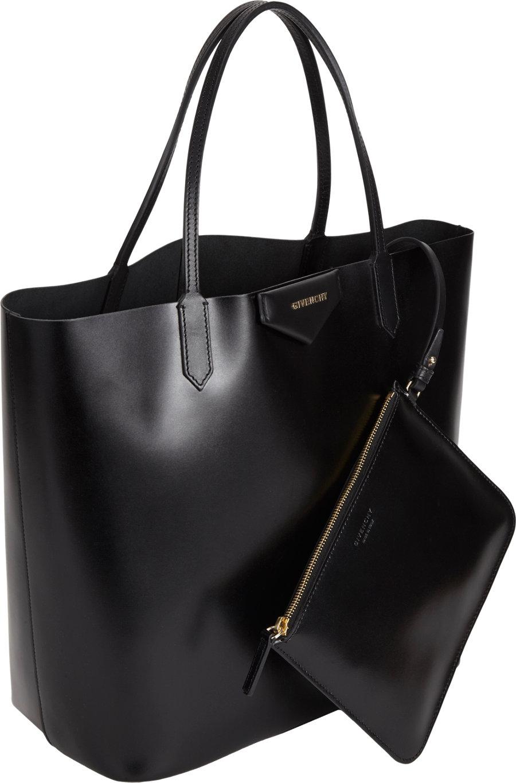 f23d7ab34877 Givenchy Antigona Shopper Tote in Black - Lyst