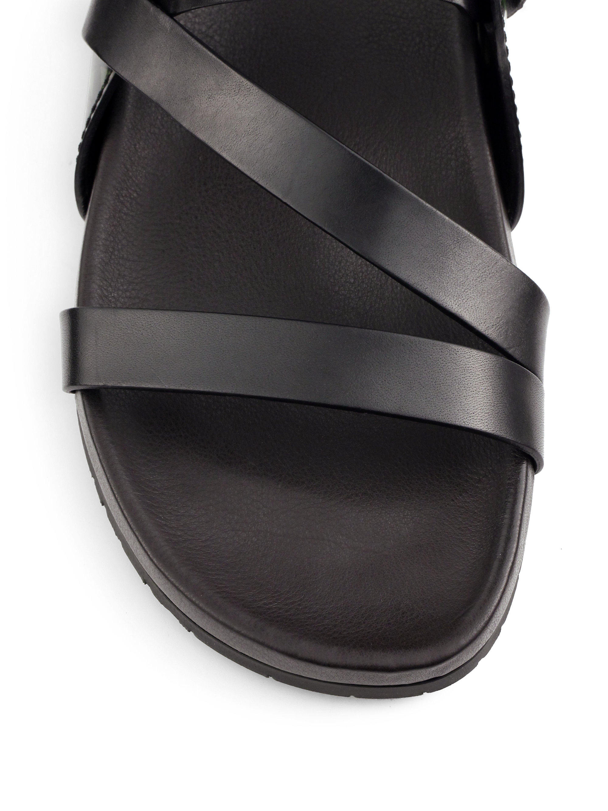 de20360b9137 Lyst - Jimmy Choo Hayman Leather Sandals in Black for Men