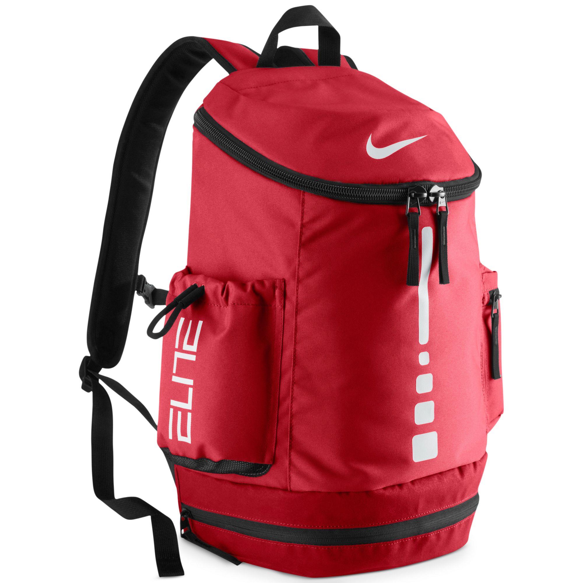 48c2a47c20b1 Lyst - Nike Hoops Elite Team Backpack in Red for Men
