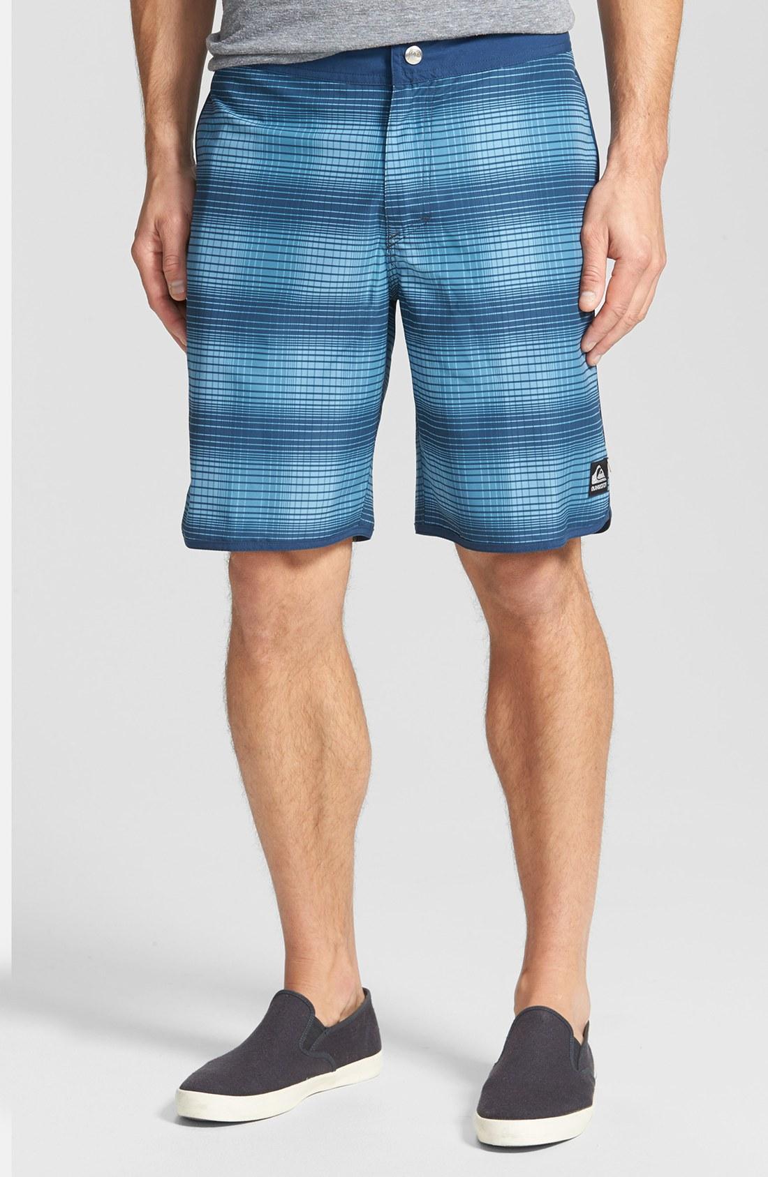 Quiksilver Quicksilver Scallopuss Board Shorts In Blue For