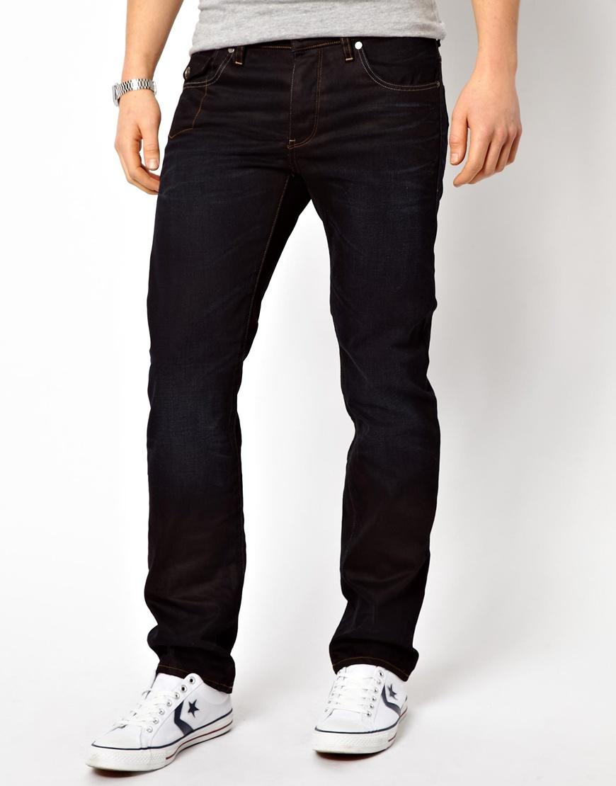 g star raw g star jeans morris low straight fit indigo. Black Bedroom Furniture Sets. Home Design Ideas