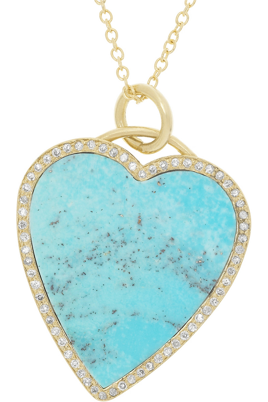 Lyst Jennifer Meyer 18karat Gold Turquoise And Diamond