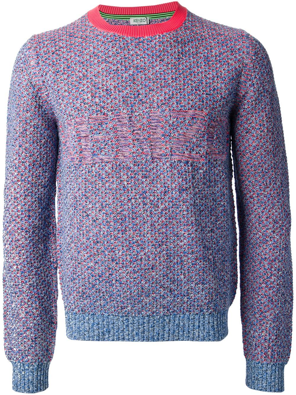 kenzo andy sweater in blue for men lyst. Black Bedroom Furniture Sets. Home Design Ideas