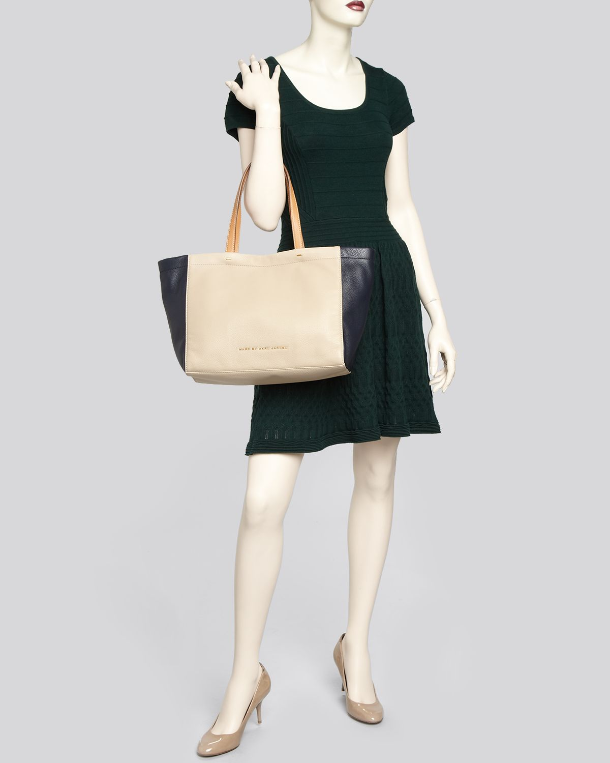 Marc By Marc Jacobs Tote Whats The T Colorblock in Natural