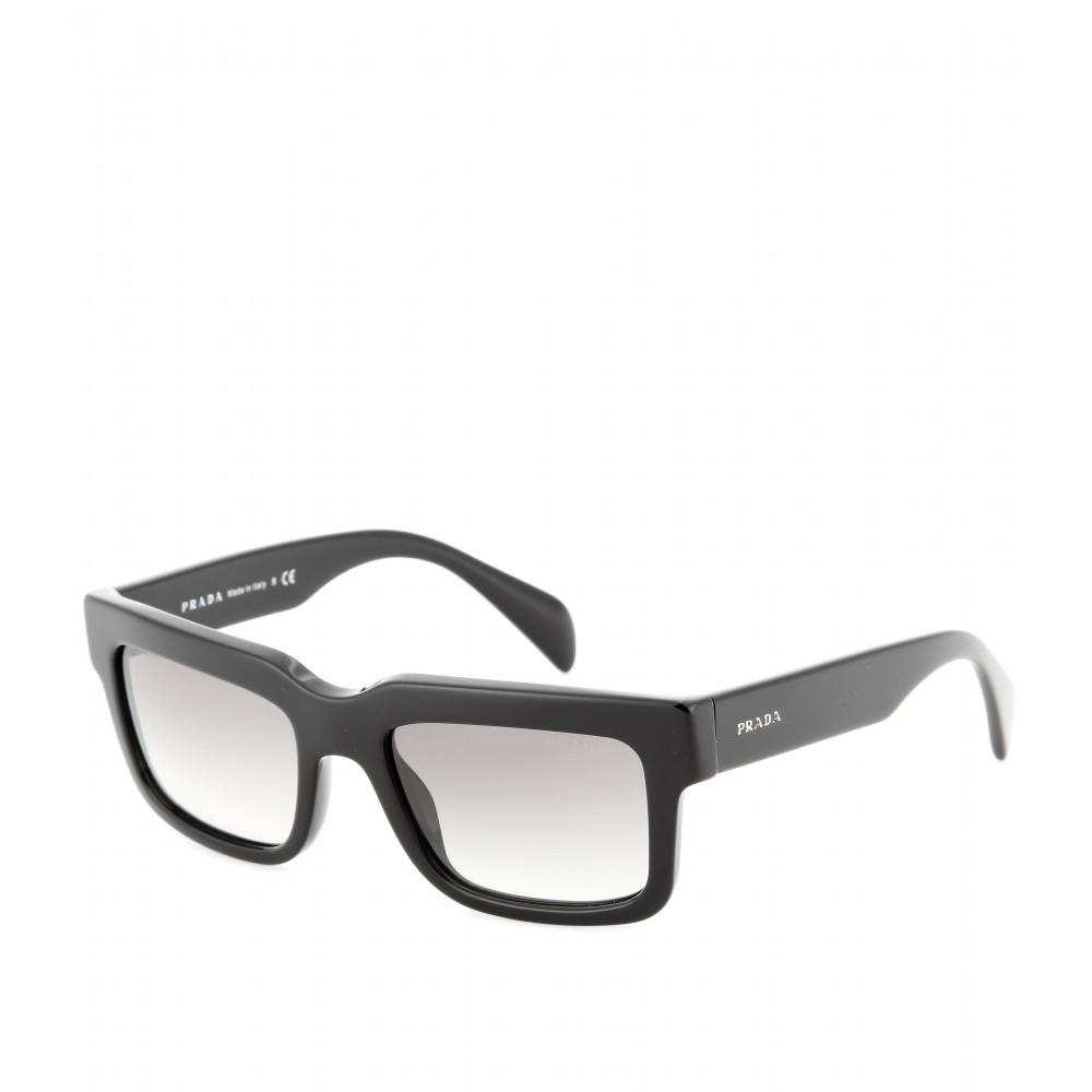 Prada Cast Square-Frame Sunglasses in Black Lyst