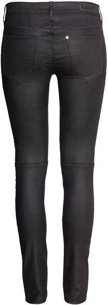 Hampm Skinny Low Jeans in Black Lyst