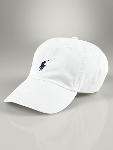 Polo Ralph Lauren Signature Pony Hat in White for Men - Lyst fe68af1ce07