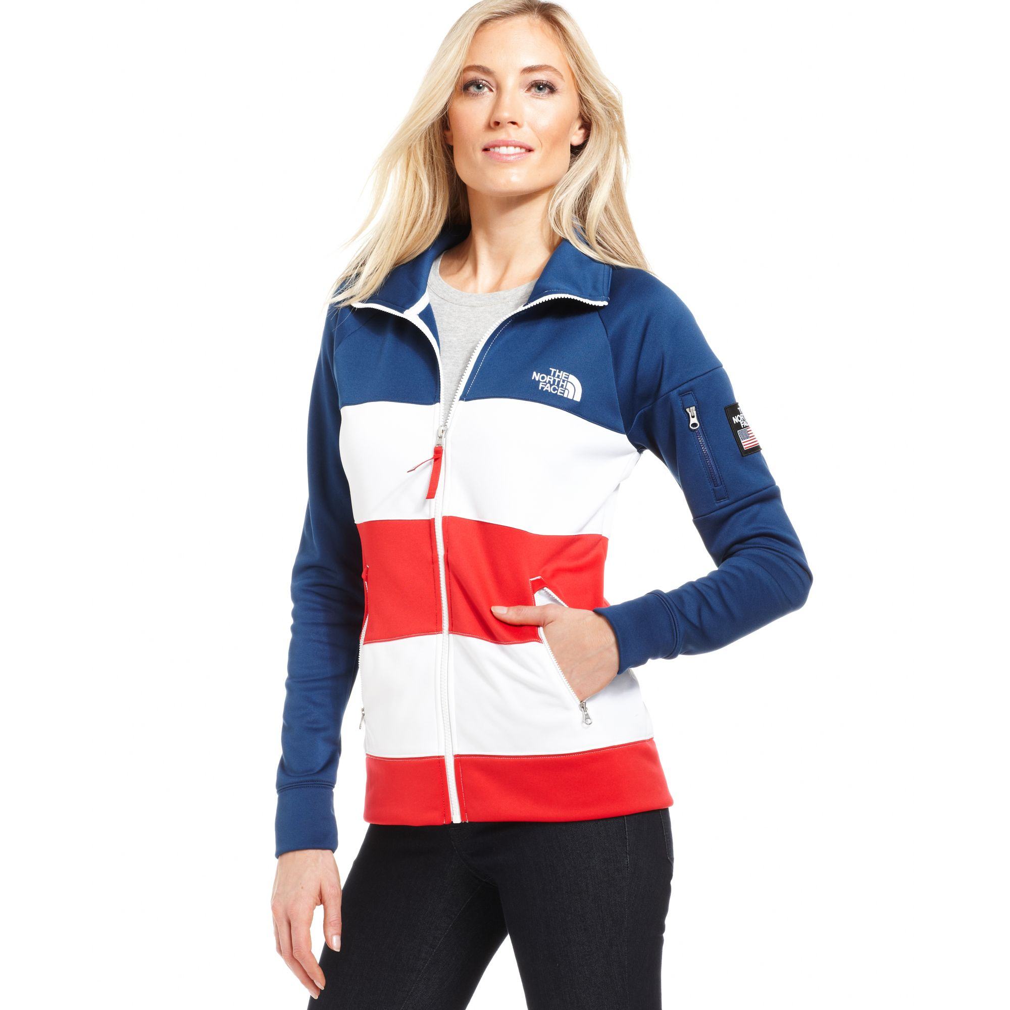 The North Face Usa International Collection Zipup Jacket