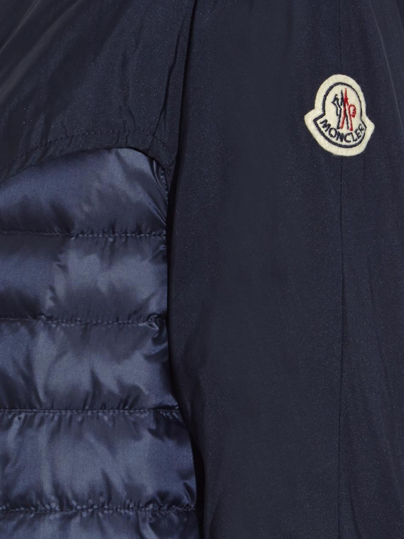 Moncler Navy Quilted Jacket