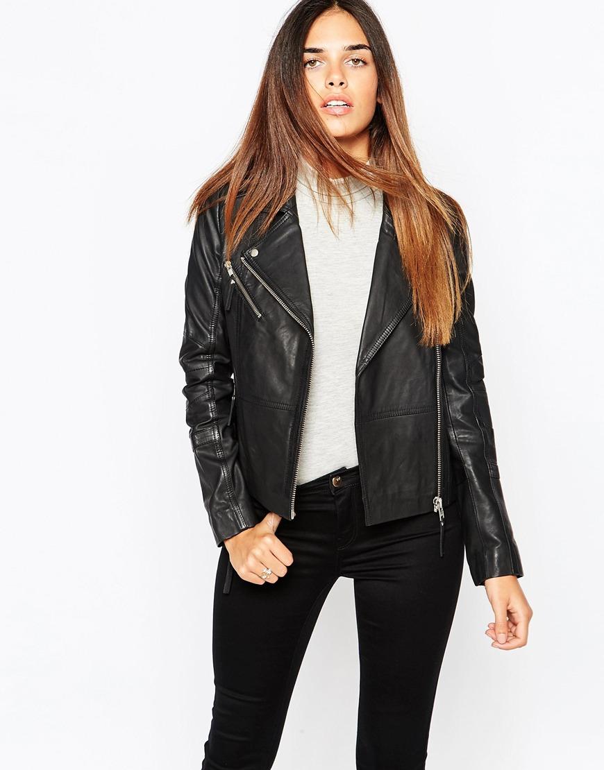557af10f0 Warehouse Black Ultimate Leather Jacket