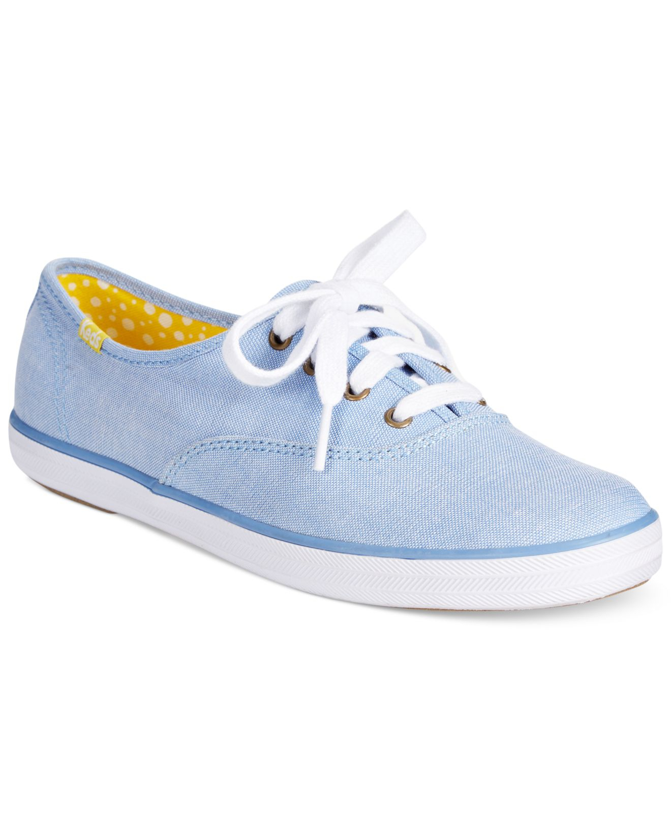 Keds Women's Spring Champion Oxford Sneakers in Blue