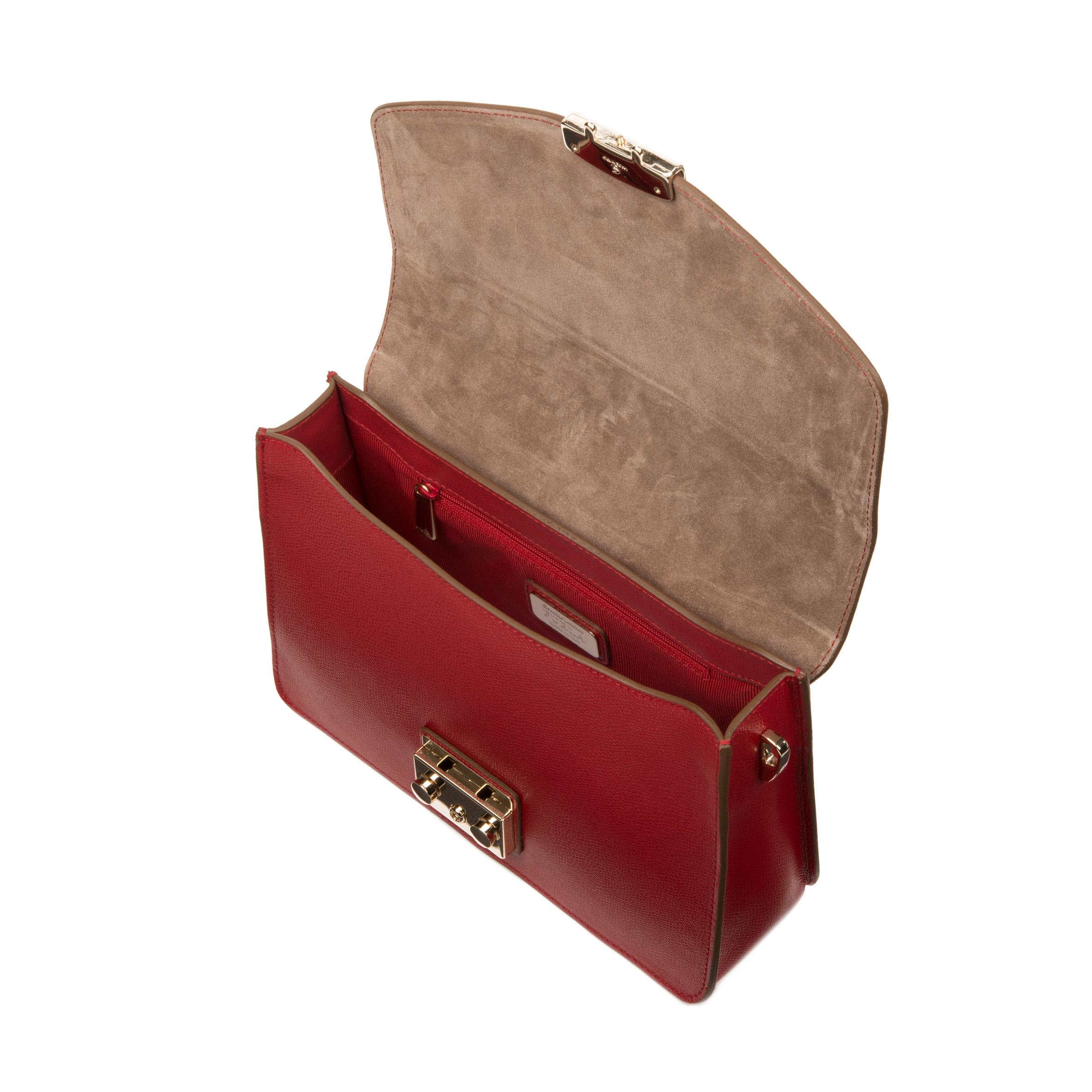 Furla Metropolis Mini Bag in Red (cabernet)