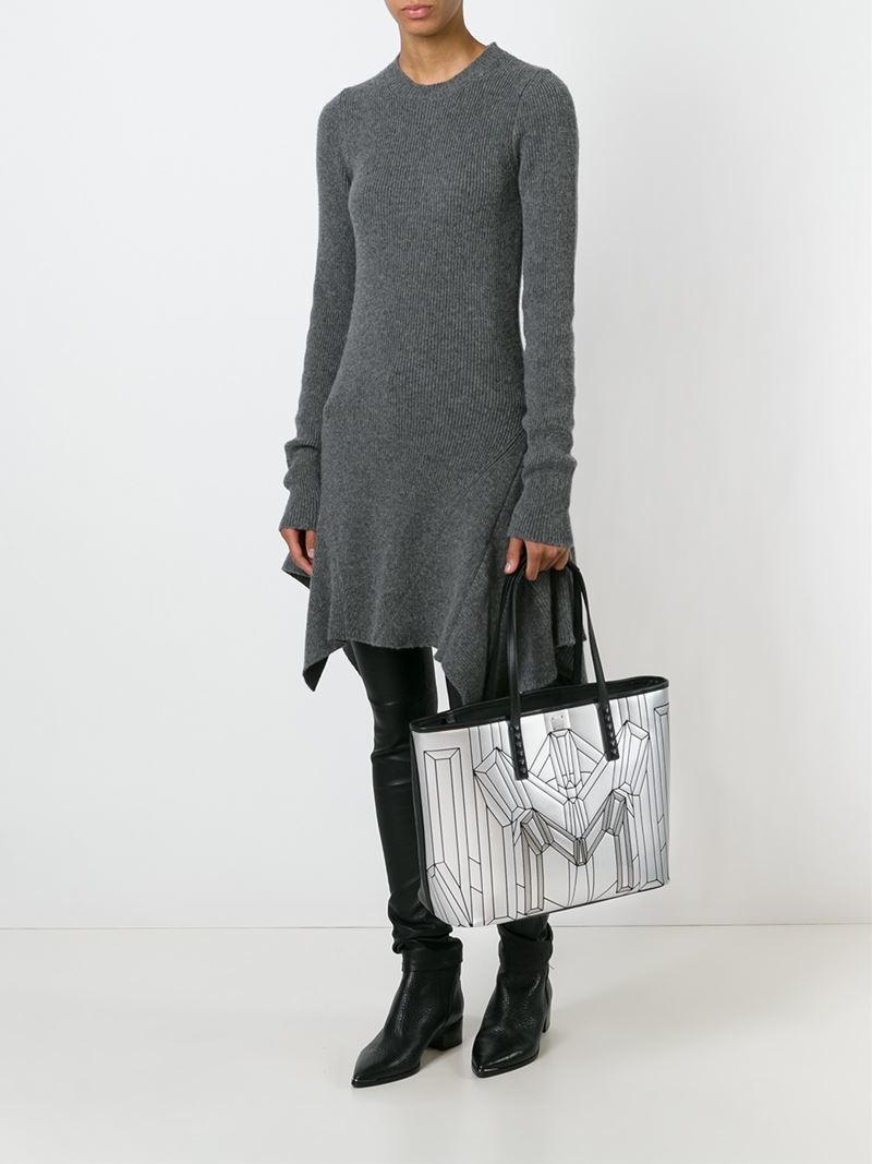 MCM 'Bionic' Tote Bag in Black