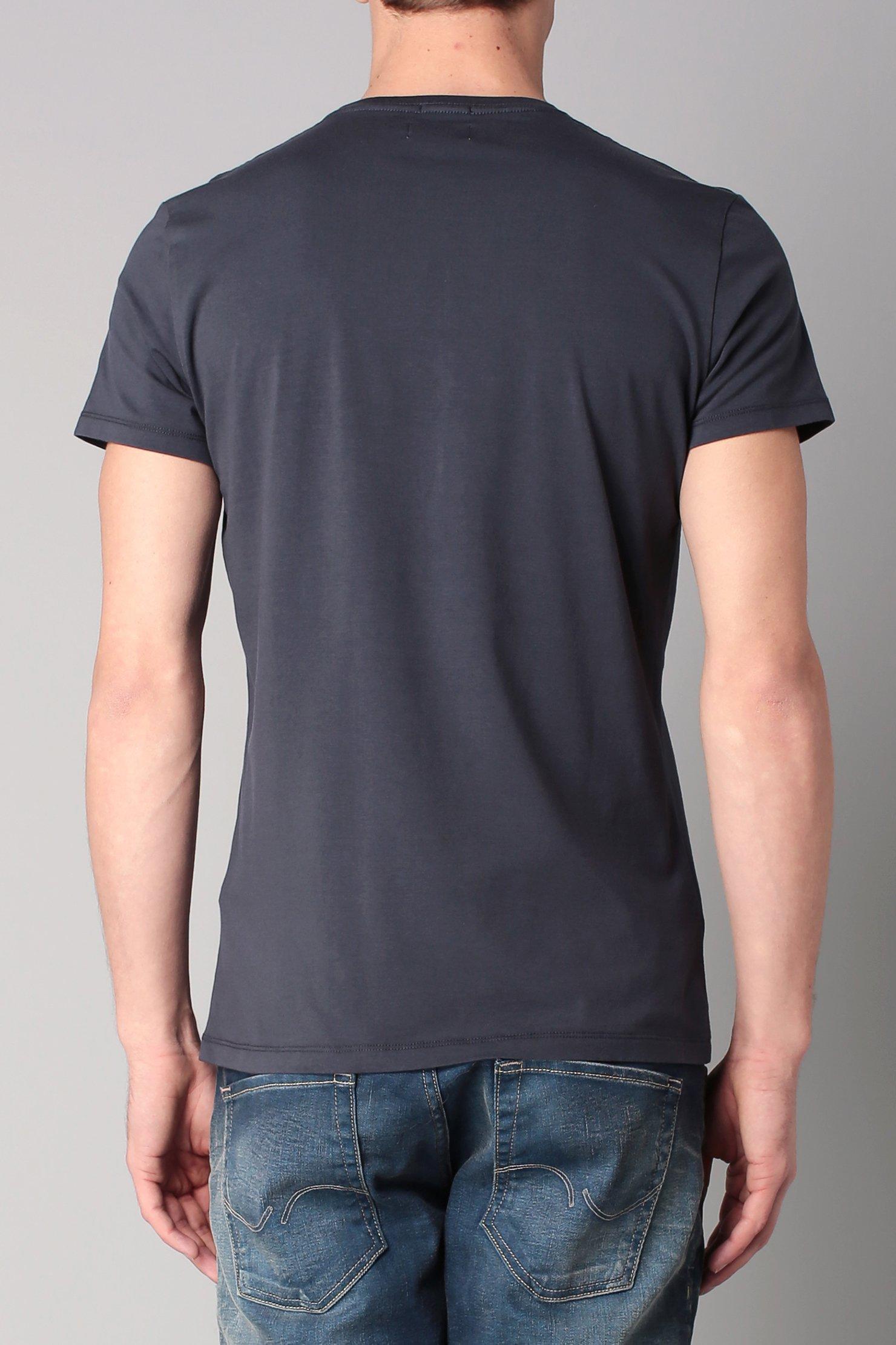 pepe jeans short sleeve t shirt in gray for men lyst. Black Bedroom Furniture Sets. Home Design Ideas