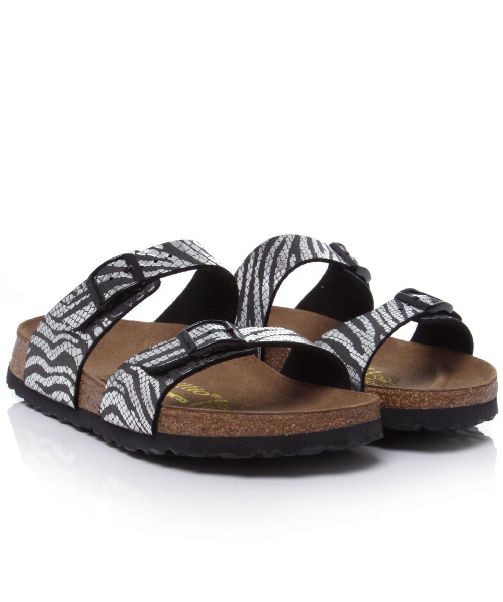 zebra birkenstocks Shop Clothing