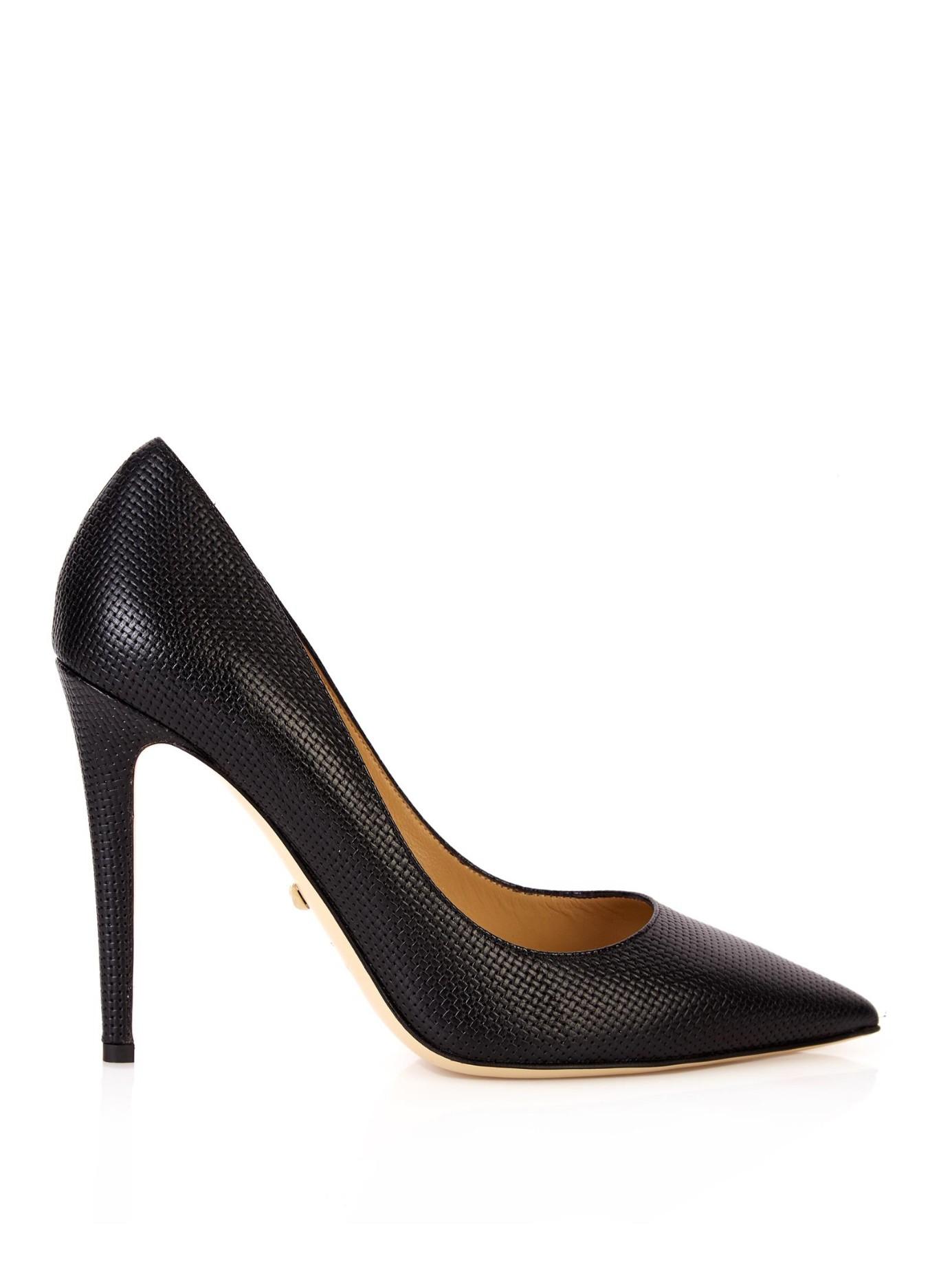 fast delivery online Diane von Furstenberg Metallic Patent Leather Pumps discount find great cheap recommend geniue stockist online 47UmGDOV8