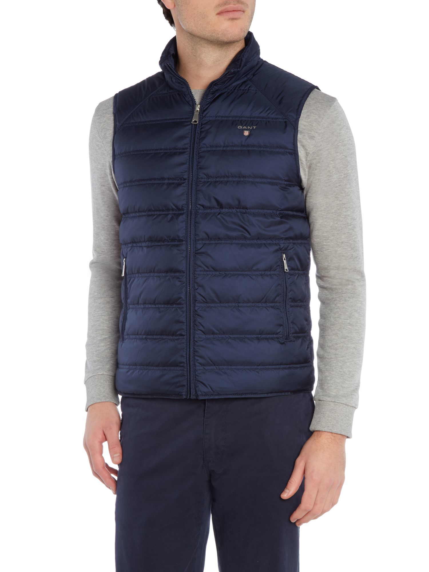 Sale Buy Man Gilet Gant - L GANT Cheap Sale Many Kinds Of Clearance Best Place Footlocker Pictures Cheap Price VPIrQ5ko