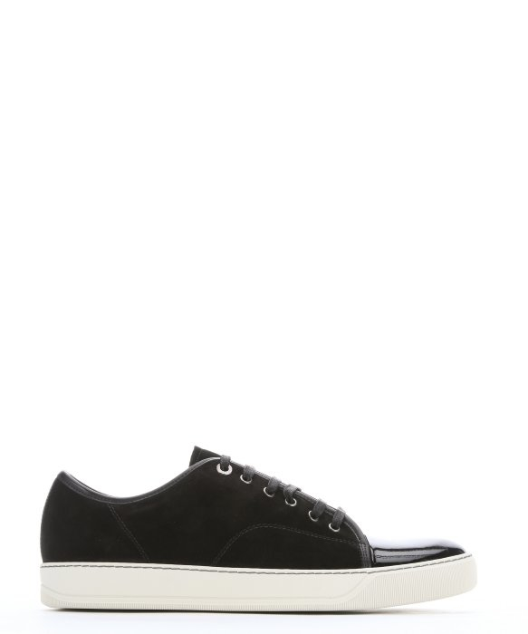 lace-up sneakers - Black Lanvin