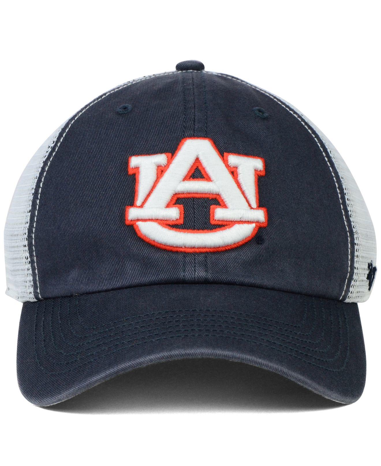 47 Brand Auburn Tigers Stretch Fit Griffin Cap Navywhite