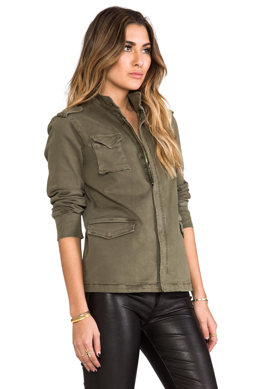 Anine Bing Army Jacket In Green Lyst