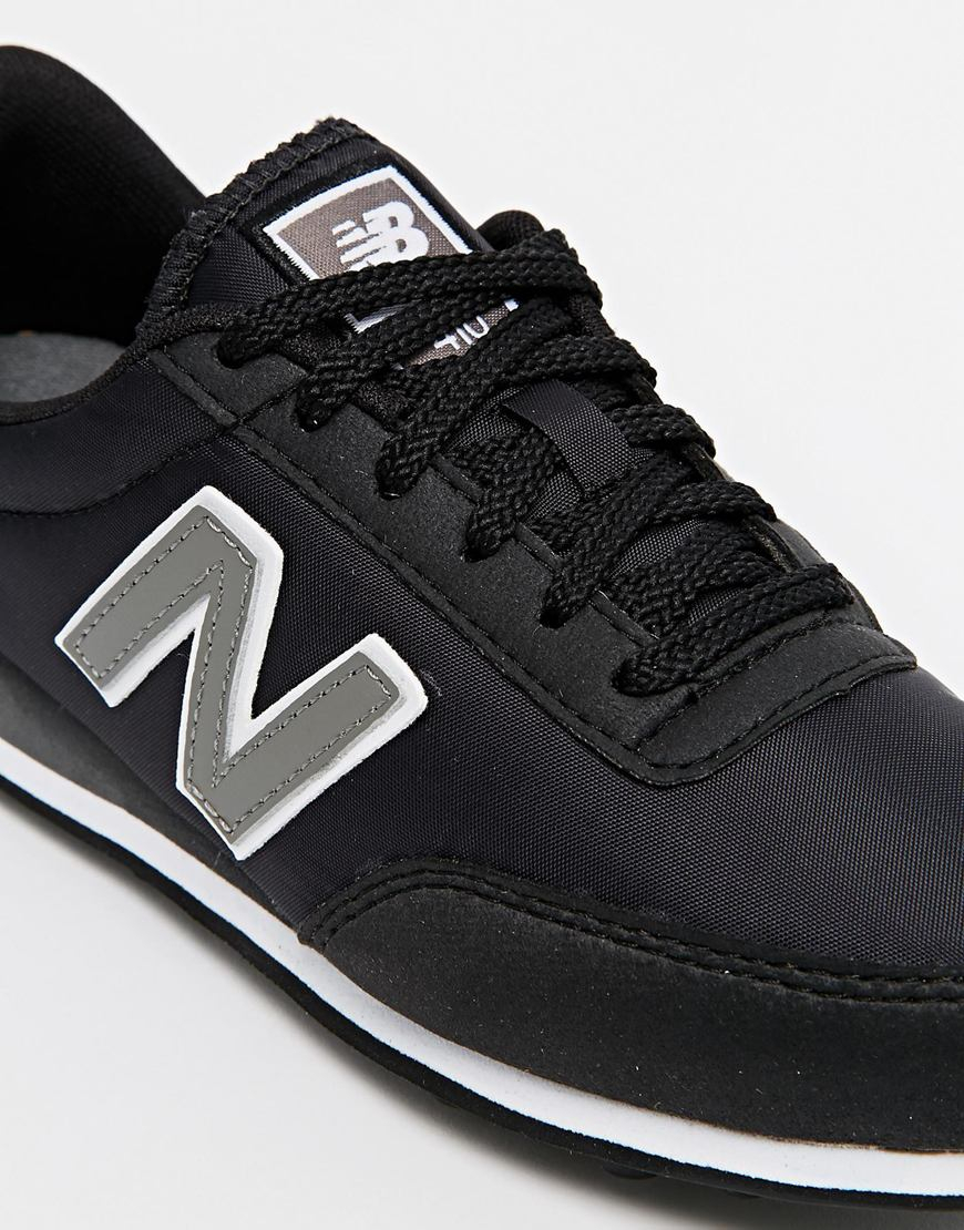 New Balance 410 Black Trainers Lyst