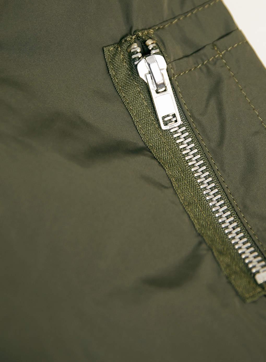 fd3e4b18d08c TOPMAN Khaki Lightweight Ma1 Bomber Jacket in Green for Men - Lyst