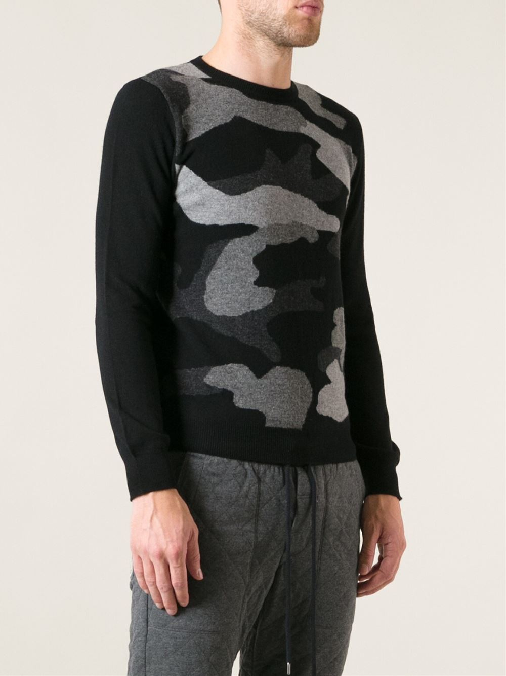 moncler camouflage sweater