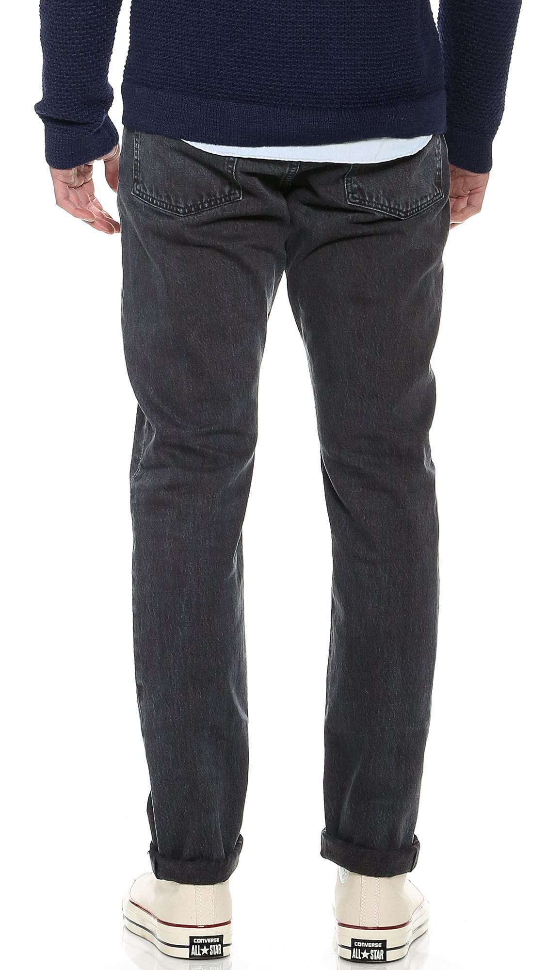 Black Overdye Jeans