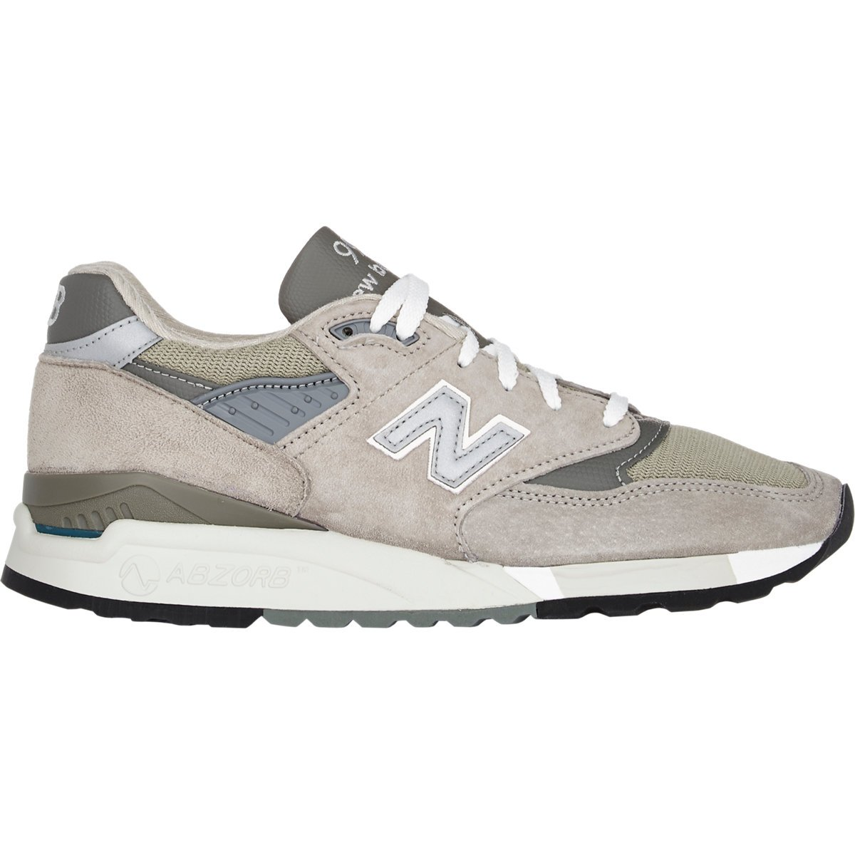 lyst new balance 998 sneakers in gray for men. Black Bedroom Furniture Sets. Home Design Ideas