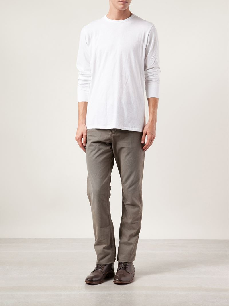 where to buy new list buy online Rag & Bone Green 'Fit 3' Chino Trousers for men