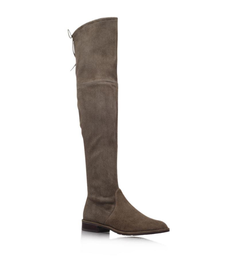 stuart weitzman lowland suede thigh high boot in