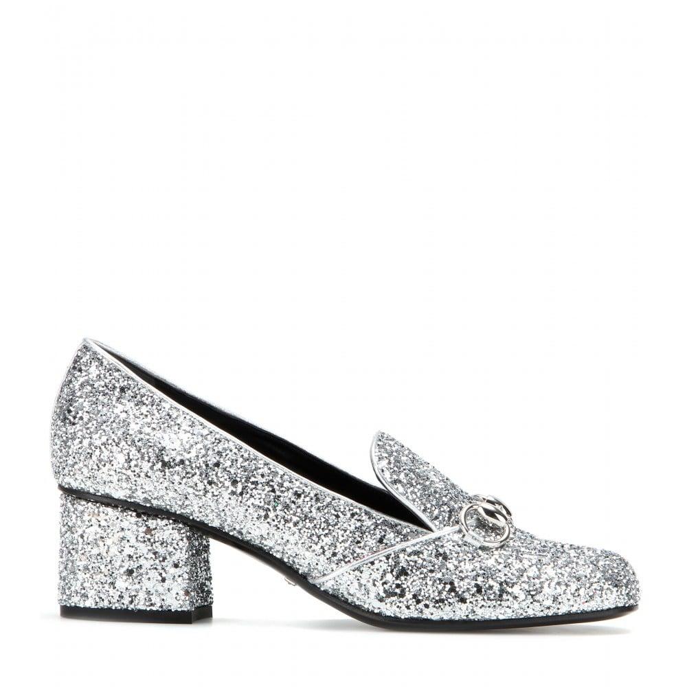 Glitter loafer pumps Gucci YBh8dT