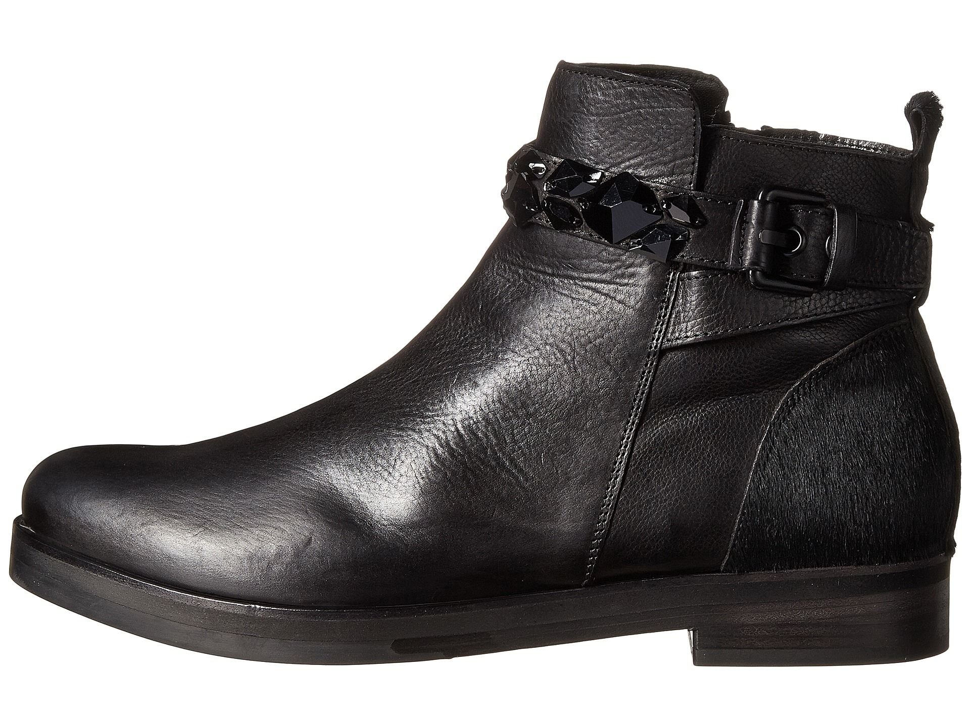 Kennel & schmenger Jess Smooth Calf Ankle Boot in Black