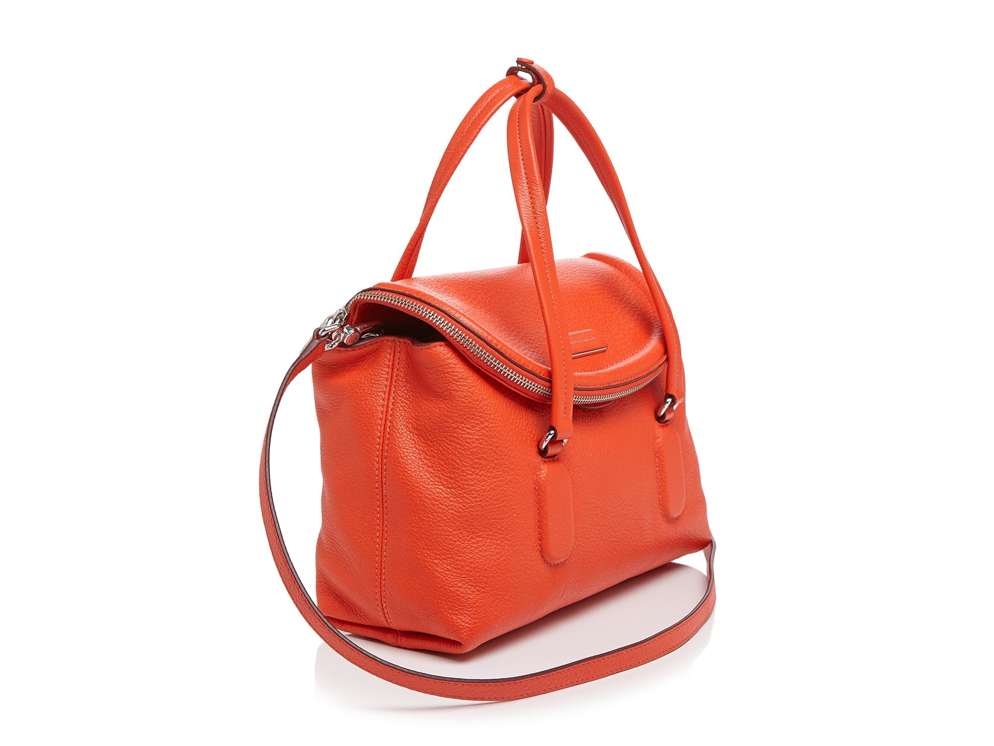 9383d6b0f2 Marc By Marc Jacobs Satchel - Silicone Valley Small in Orange - Lyst