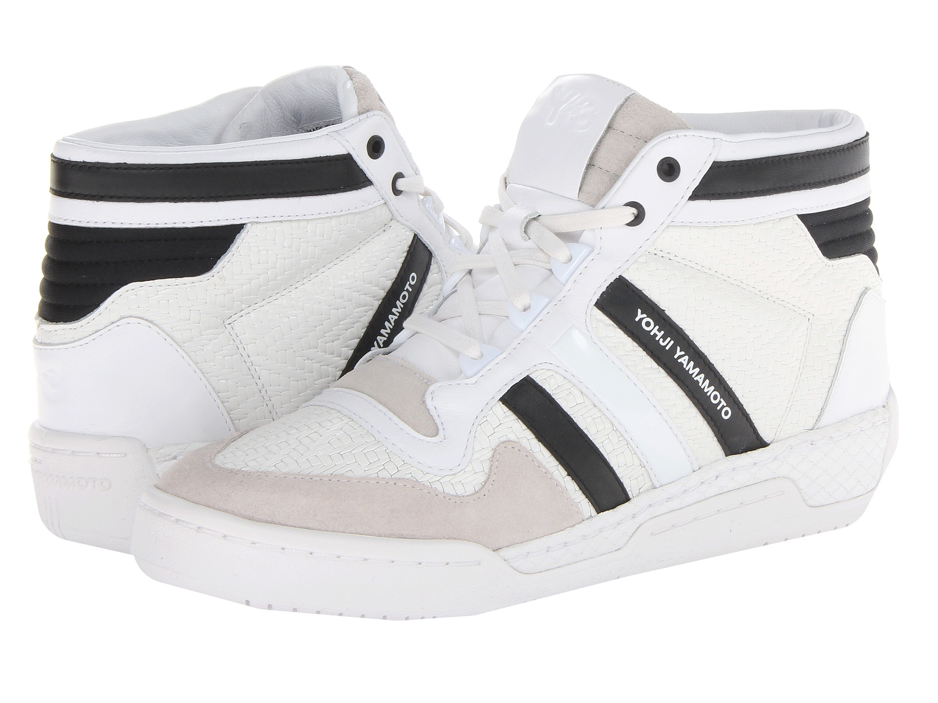 Lyst - Y-3 Y3 Courtside Ii in White for Men 66b6e4ff8
