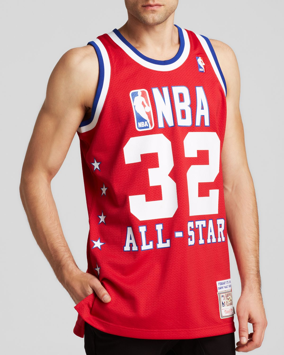 new arrivals 2a32c 78977 Men's Red 1990 All-Star West Earvin