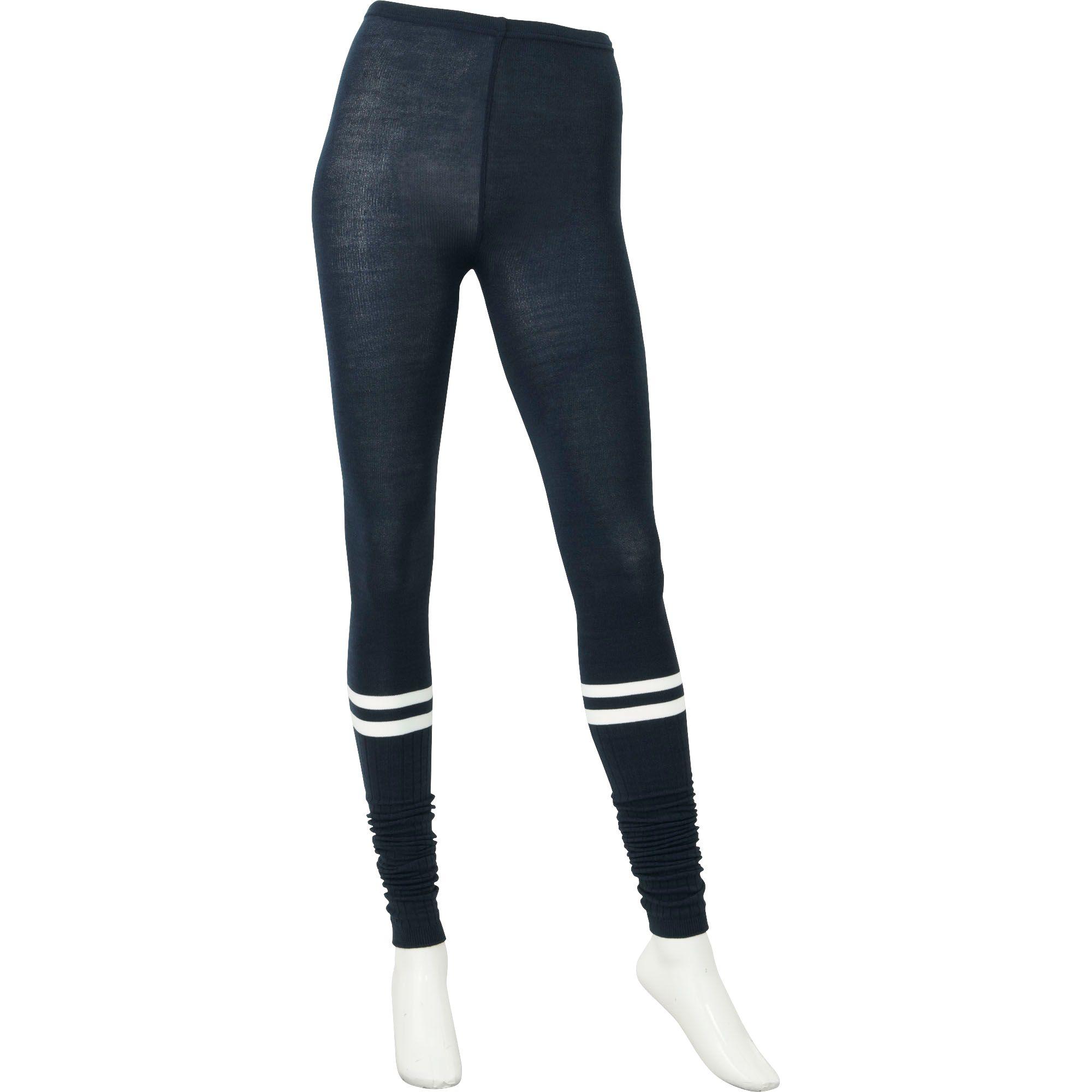 Uniqlo Women Heattech Knitted Extra Long Leggings (line ...