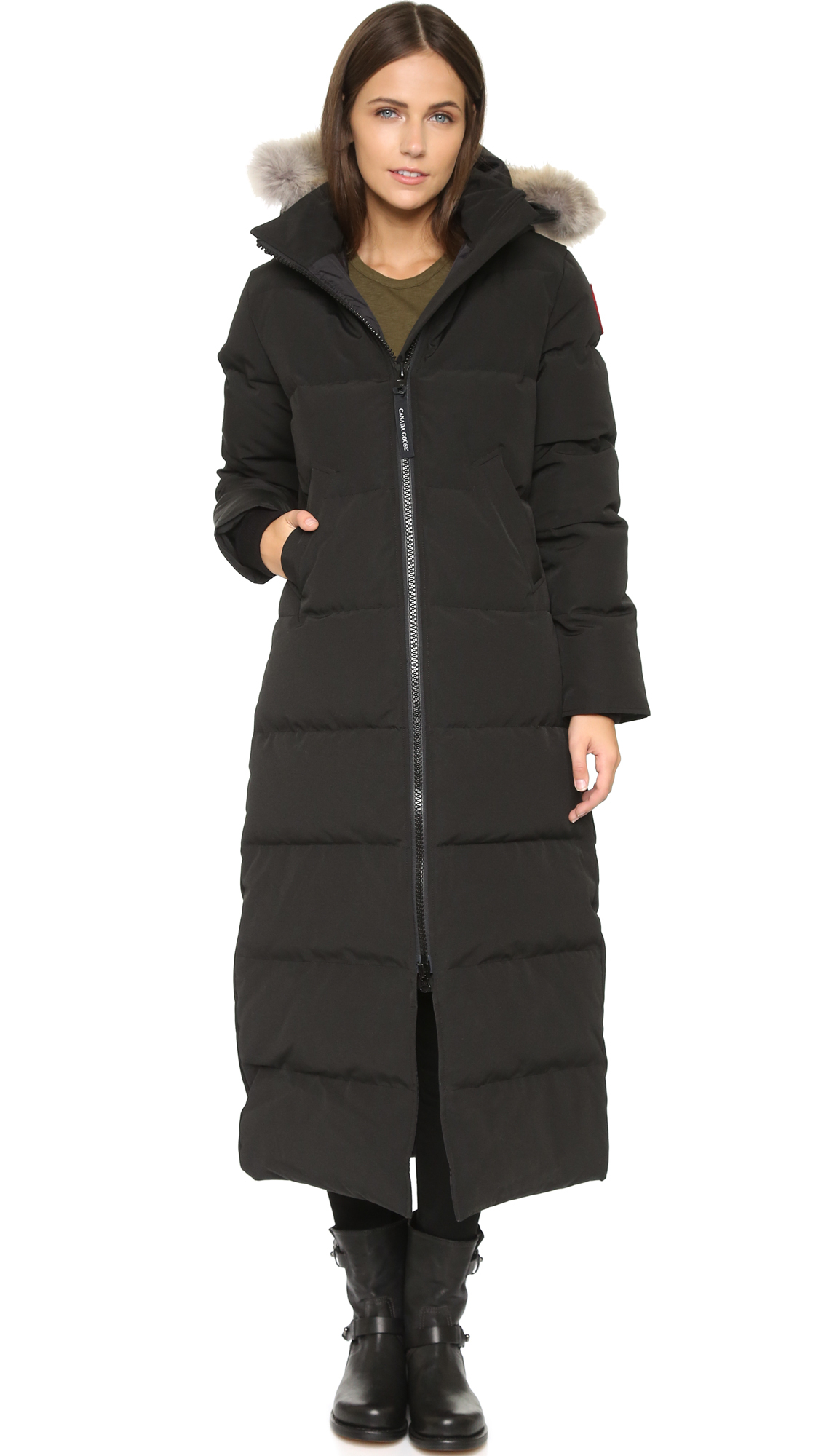 Canada Goose Mystique Parka - Silverbirch In Black - Lyst-8863