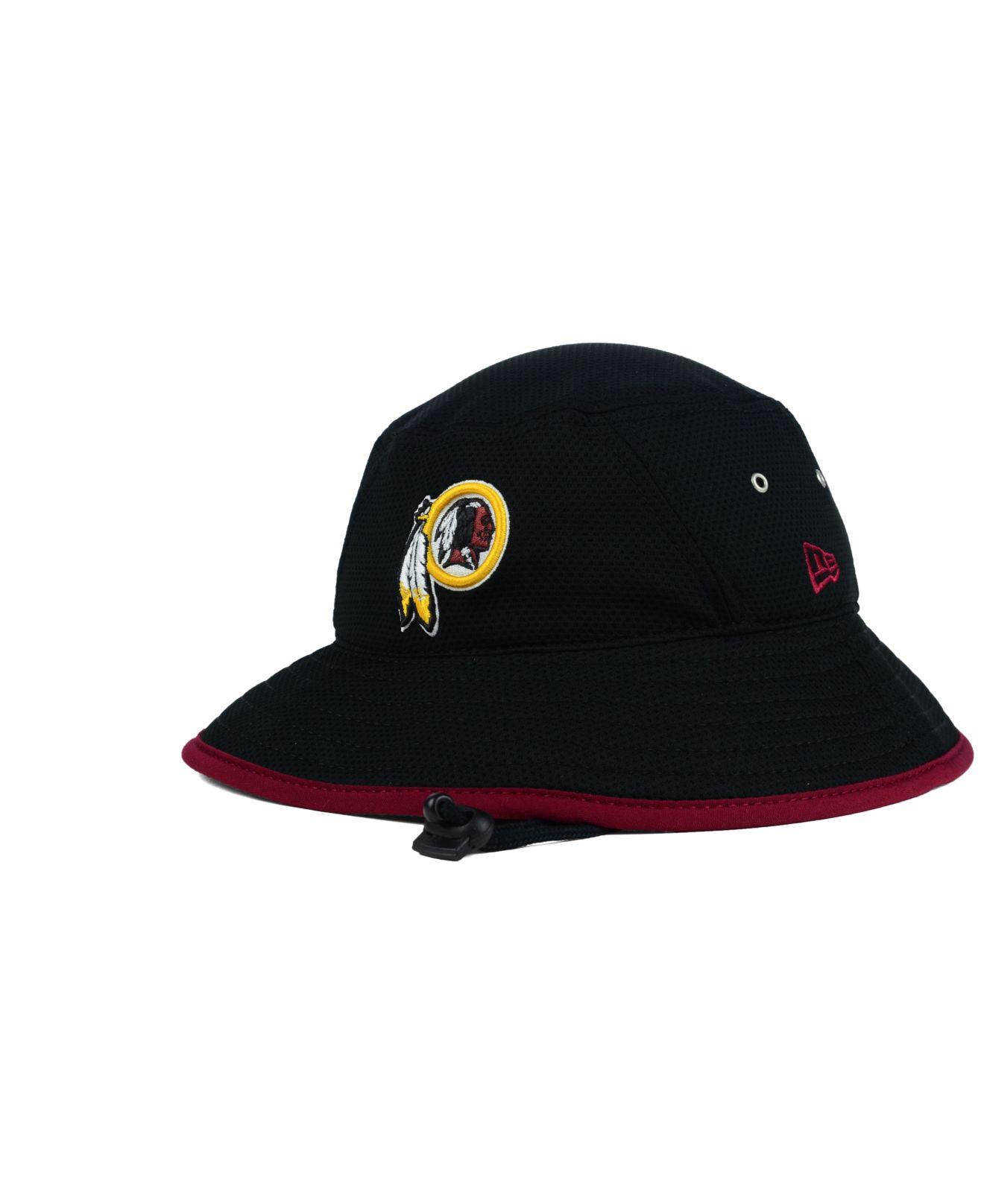 Lyst - KTZ Washington Redskins Training Bucket Hat in Black for Men 895ba988c20