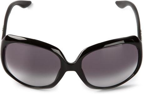 Dior Glasses Frame 2014 : Dior Round Frame Sunglasses in Black Lyst