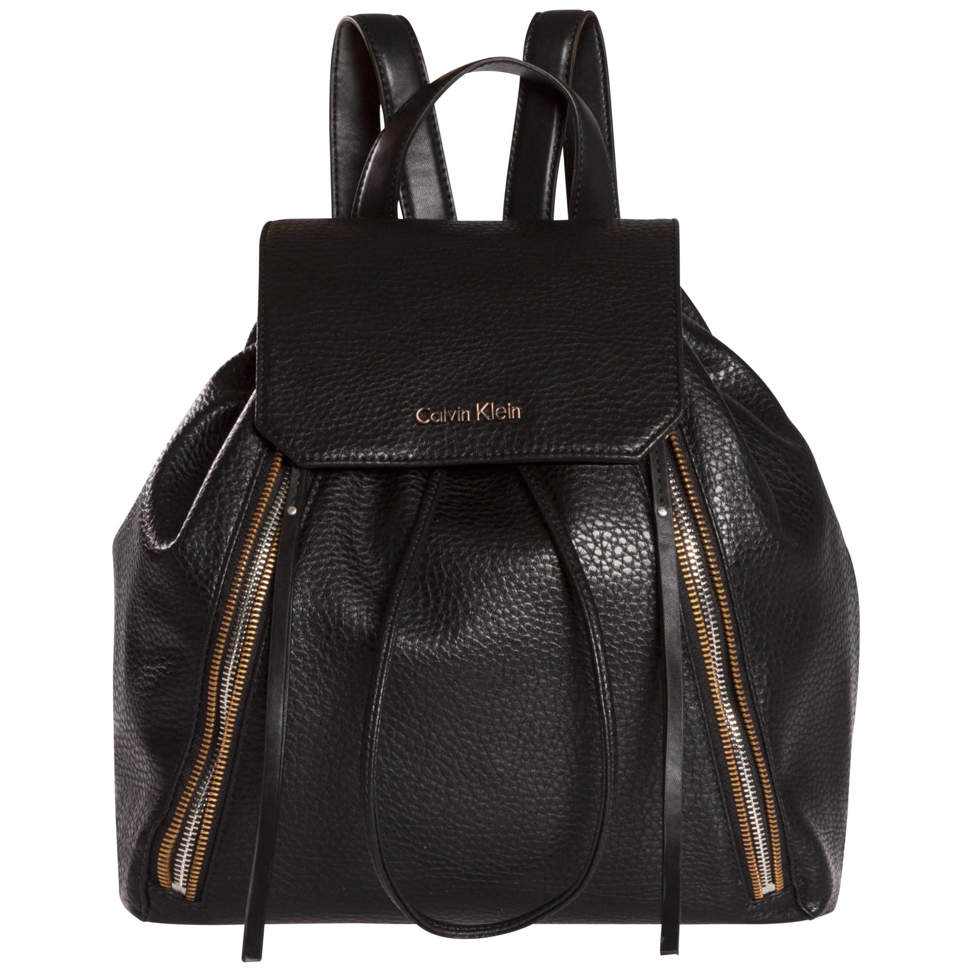 calvin klein nora backpack in black lyst. Black Bedroom Furniture Sets. Home Design Ideas