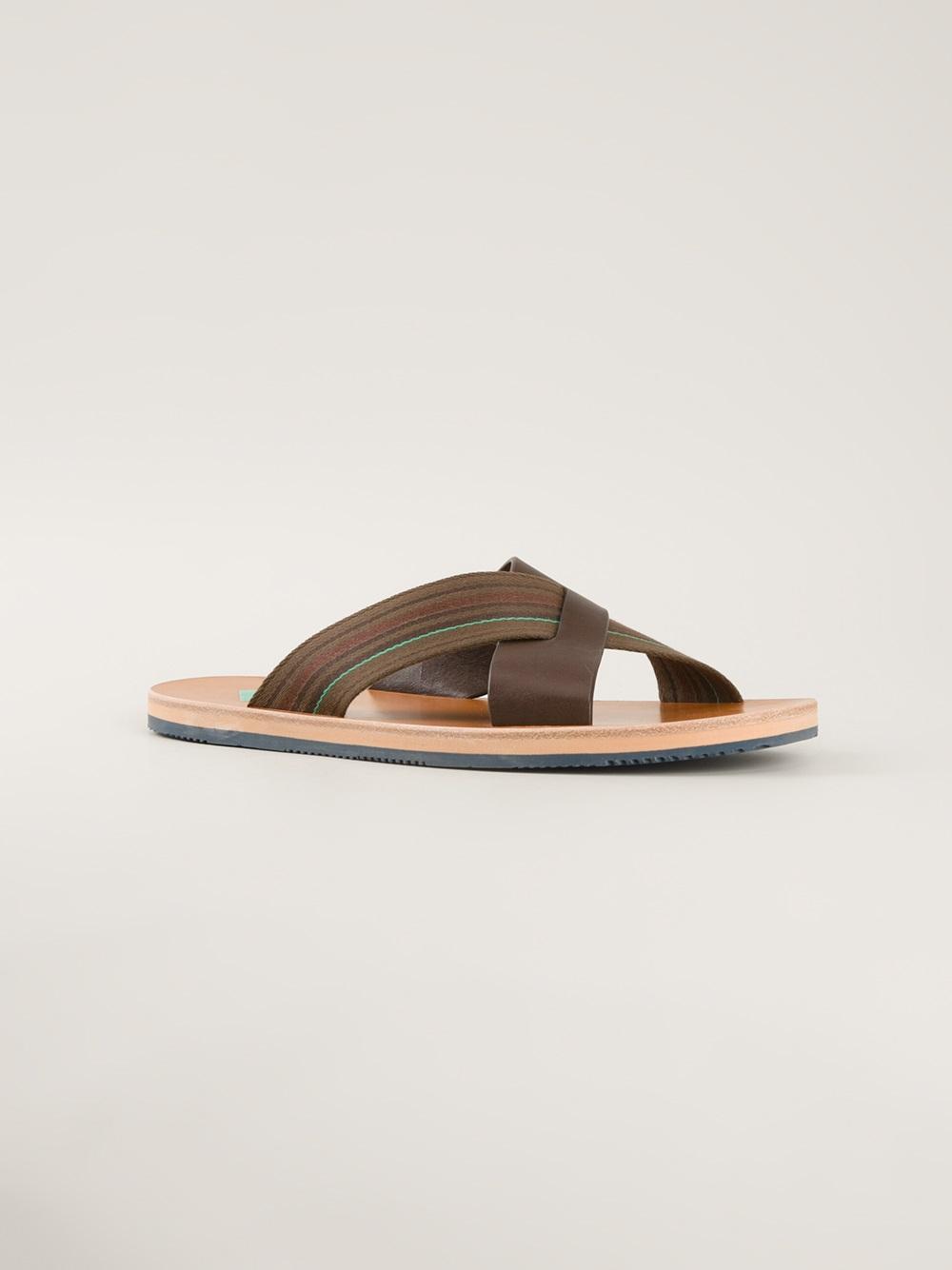 2a666c2b9578 Paul Smith Kohoutek Sandal in Brown for Men - Lyst
