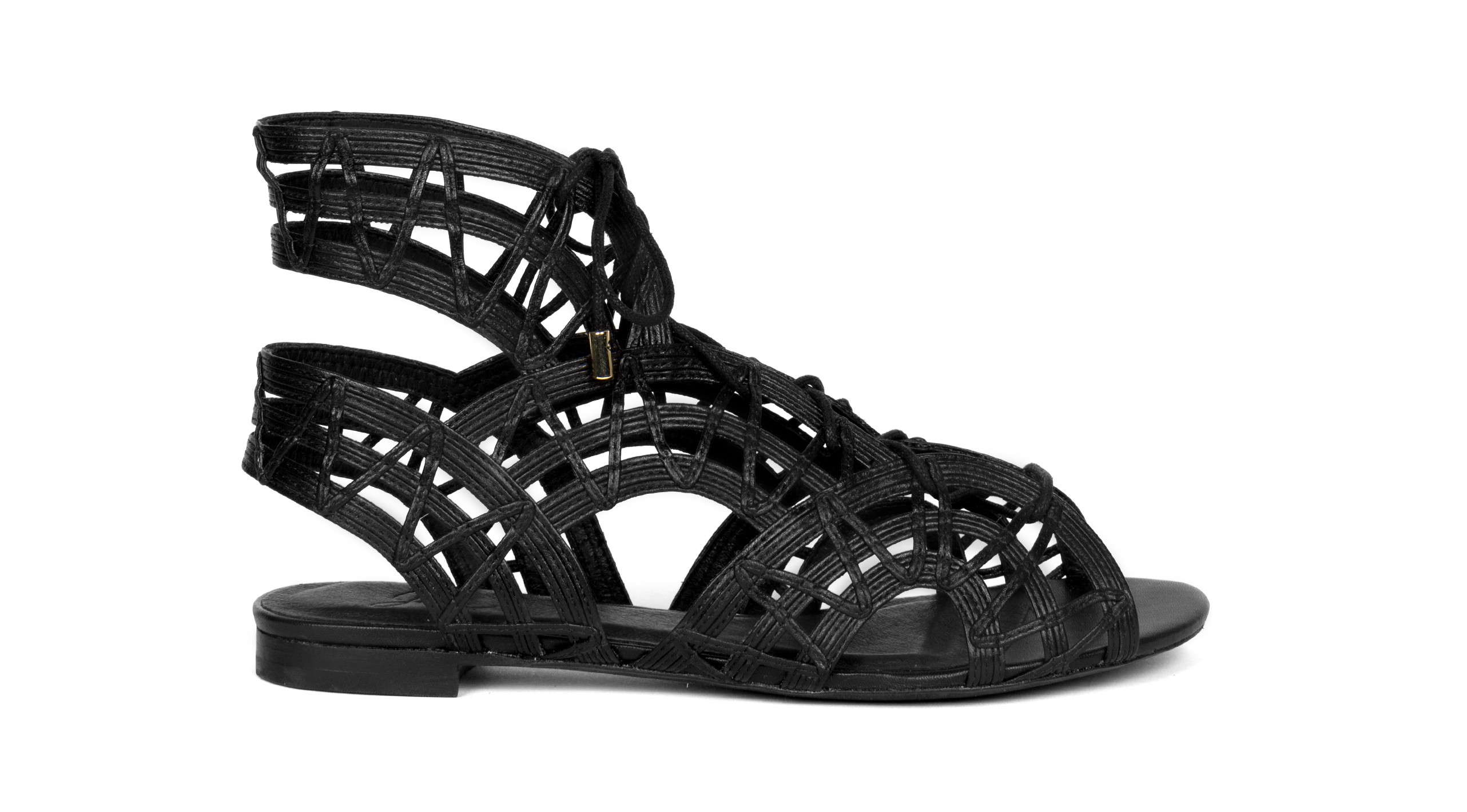 Joie Renee Lace Up Gladiator Sandal In Black Lyst
