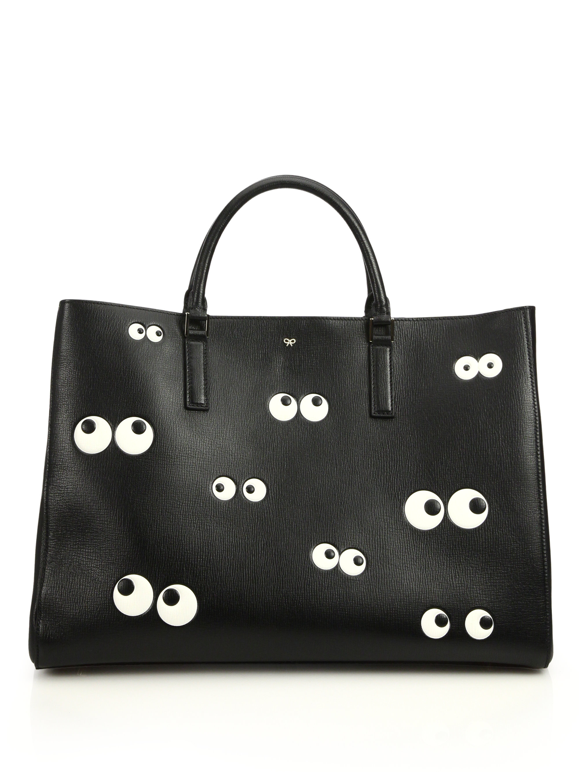 Eyes tote bag - Black Anya Hindmarch es67nBMa5