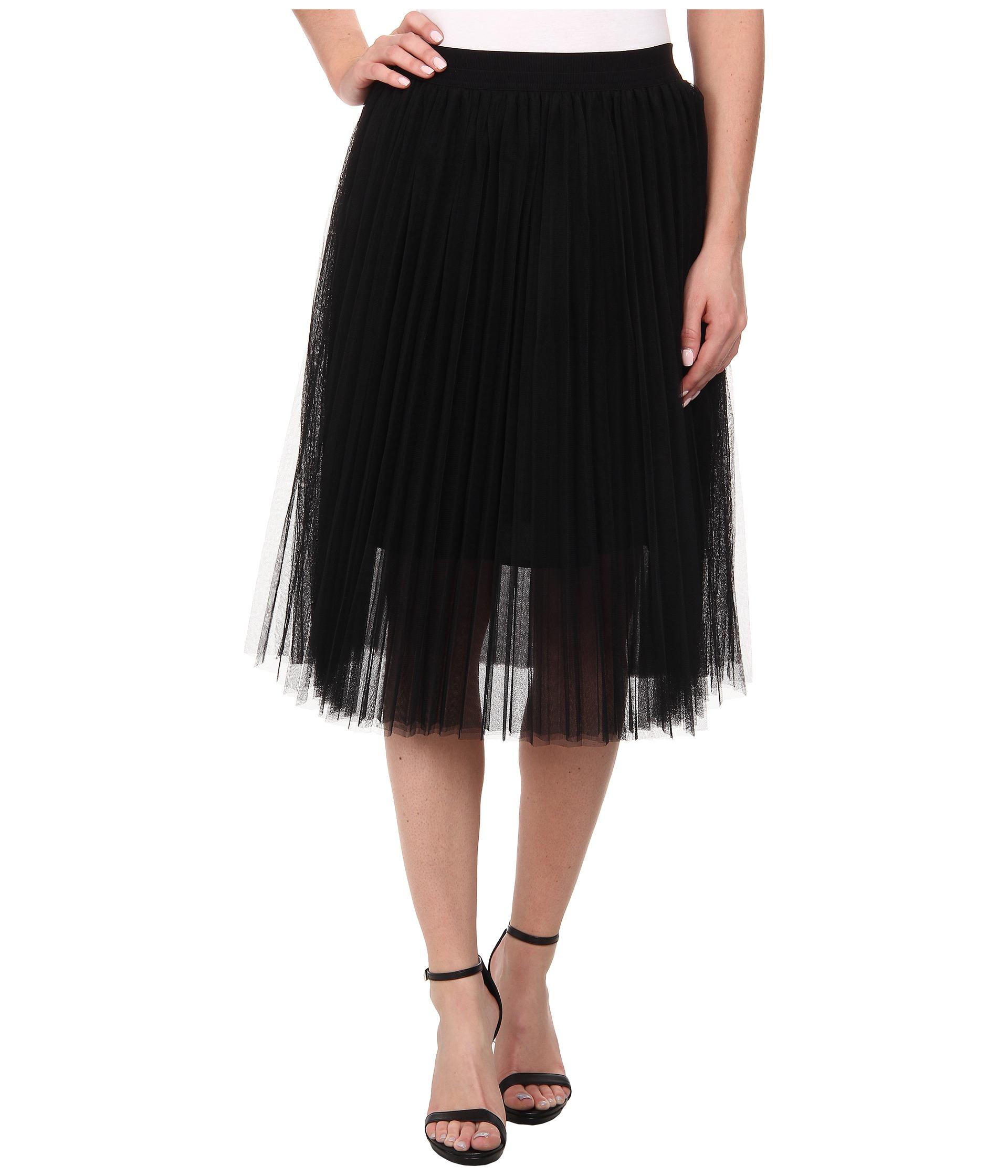 Pleated Tulle Skirt 8