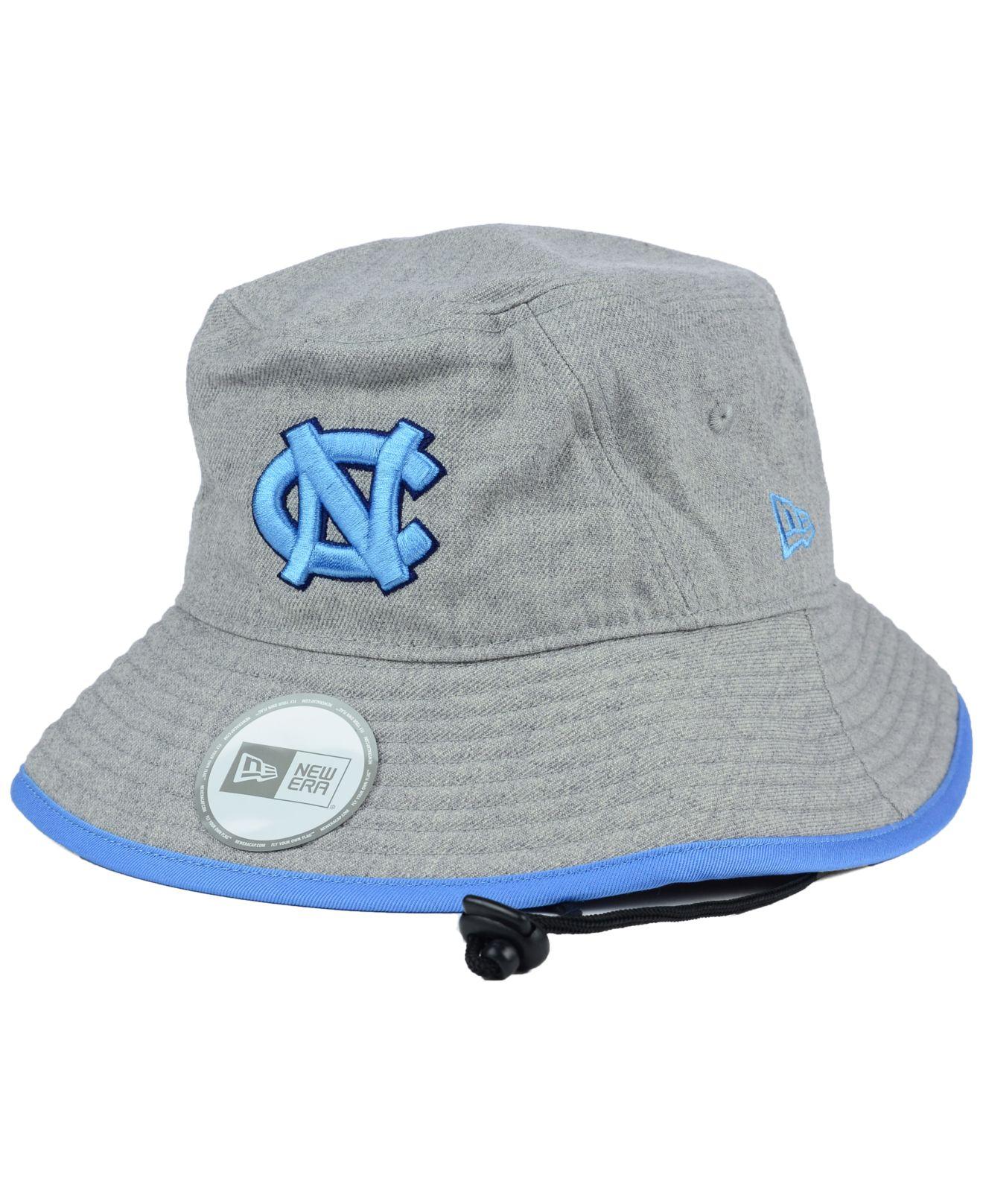 ... low cost lyst ktz north carolina tar heels tip bucket hat in gray for  men 6de88 ... e6260d1a327